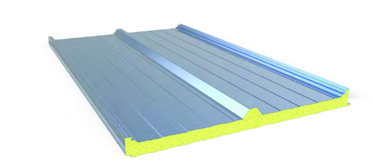 Poliüretan Sandviç Çatı Paneli